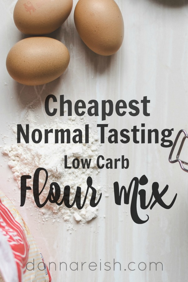 Cheapest Normal Tasting Low Carb Flour Mix