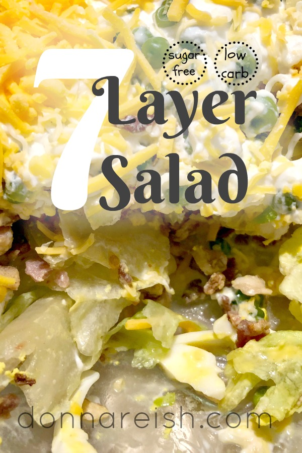 Low Carb 7 Layer Salad