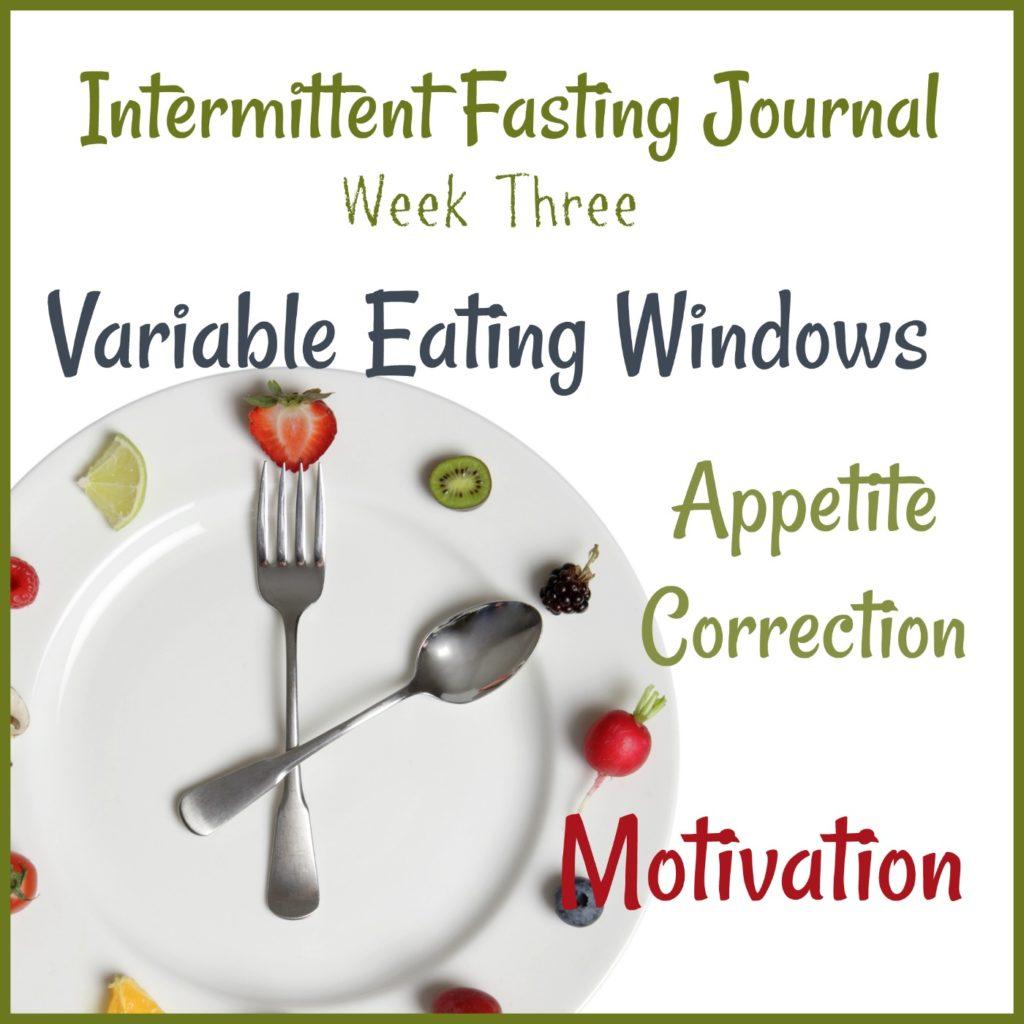 Intermittent Fasting Journal: Week 3