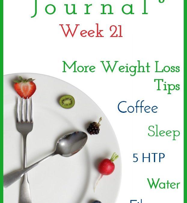 Intermittent Fasting Journal – Week 21