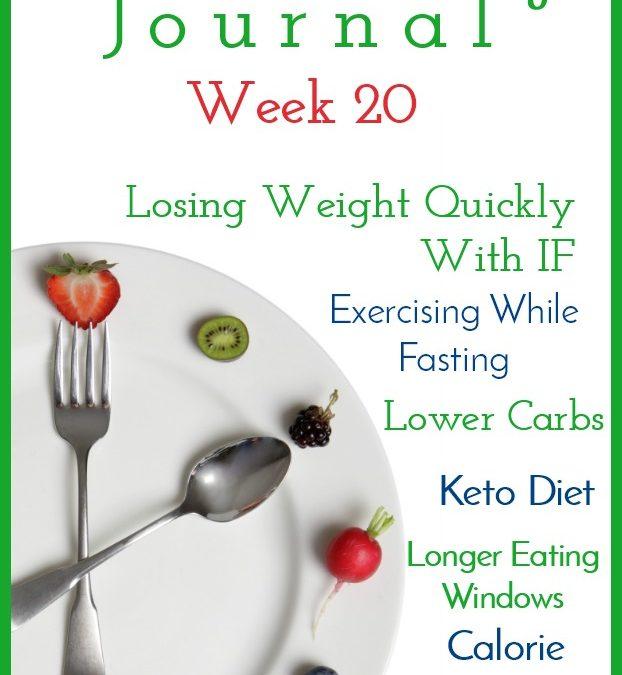 Intermittent Fasting Journal – Week 20