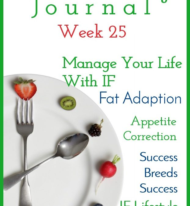Intermittent Fasting Journal – Week 25