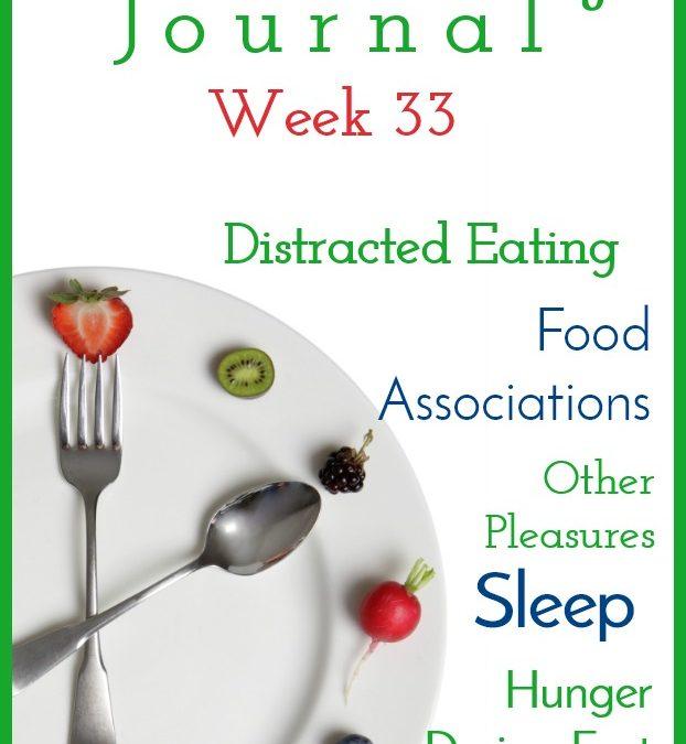 Intermittent Fasting Journal – Week 33