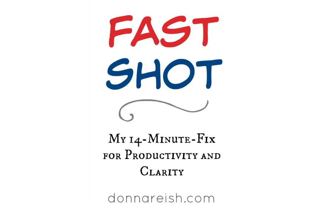 My 14-Minute-Fix for Productivity and Clarity (Fast Shot)
